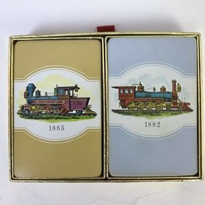 Congress Playing Cards Steam Engines 1882 1885